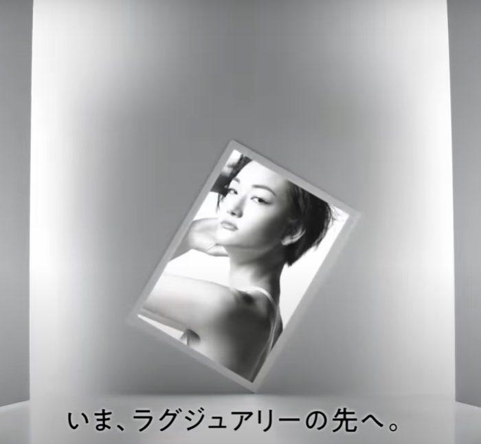 冨永愛 THE GINZA CM