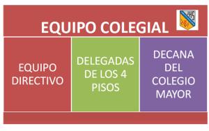 Organigrama Equipo Colegial