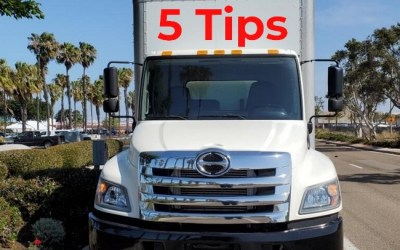 5 Tips When Purchasing a Used Commercial Truck