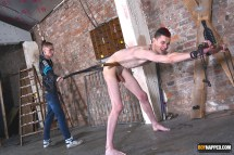 twink spanking