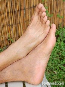 lad feet