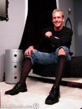 gay nylon legs
