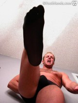 gay foot nylon