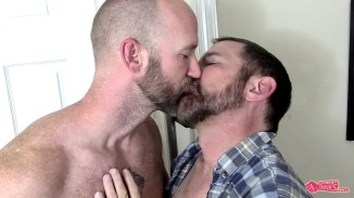 gay kissing