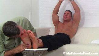 gay feet worship