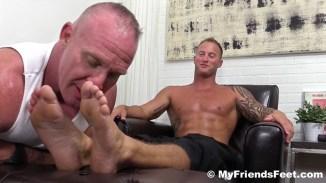 gay bare feet