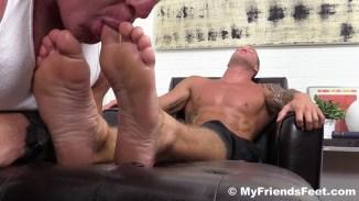 gay feet sucking