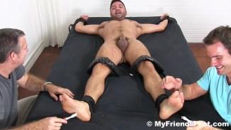 nude male foot
