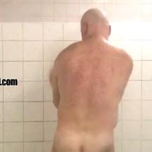male shower