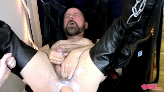 hunk anal fisting