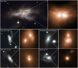 Astronomers Find Pairs of Black Holes at the Centers of ...