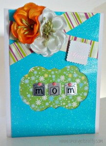 Mother's Day Card from Scraps!