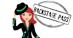 Backstage Pass: Behind the Blog #1