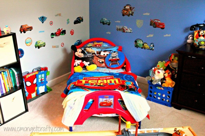 Do you have a little Cars fan in need of a bedroom update? Check out these Cars bedroom ideas, sure to please your little race fan!