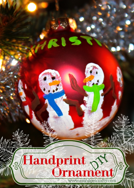 Handprint Ornament DIY