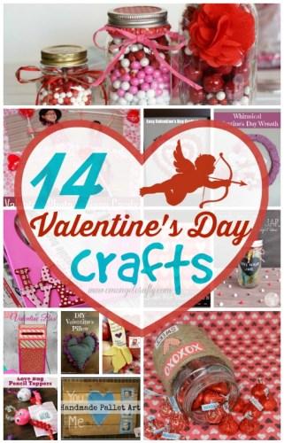 14 Valentine's Crafts