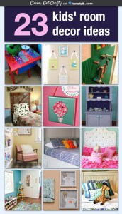 Hometalk Board: 23 Kids' Room Decor Ideas