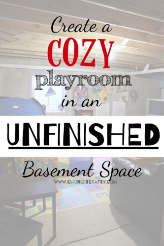 unfinished basement ideas