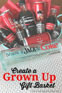 Create a Grown Up Gift Basket