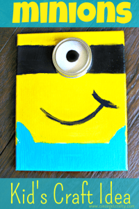 Minions Kid's Craft
