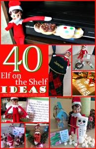 40 Elf on the Shelf Ideas PLUS Free Printables!!