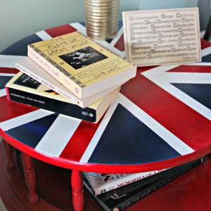 Union Jack Side Table