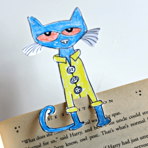 Make Your Own Coloring Page Bookmark