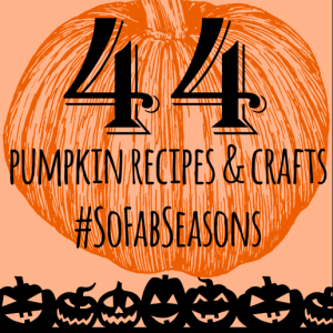 44 Blogger's Pumpkin Ideas: Recipes, Crafts, & Decor
