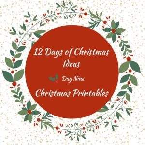 12 Days of Awesome Christmas Printables