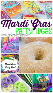 Mardi Gras Party Ideas {Merry Monday Link Party #143}