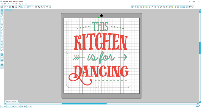 This Silhouette kitchen art wooden board is the PERFECT description of our house! I love it!
