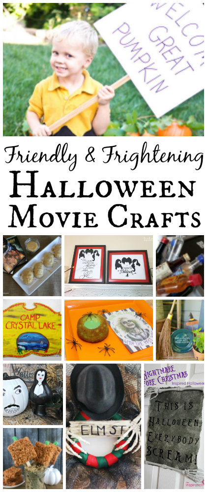 Halloween movie craft ideas