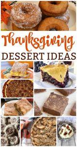 Thanksgiving Dessert Ideas {MM #179}