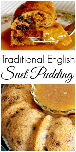 My family used to make this traditional English suet pudding when my mom was a kid, and she uncovered the old recipe. Now it's a Christmas tradition again!
