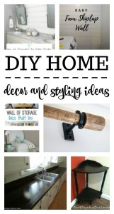 DIY Home Decor and Styling Ideas {MM #190}