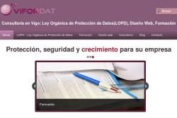 Cabecera de la web de Vifordat