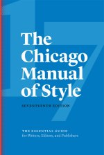 Image of book cover of The Chicago Manual of Style