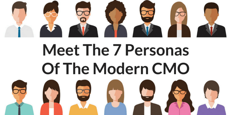 7 Personas of Modern CMO - Meet the 7 Personas of the Modern CMO