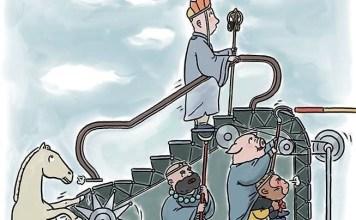 lãnh đạo mà không lãnh đạo của Đường Tăng