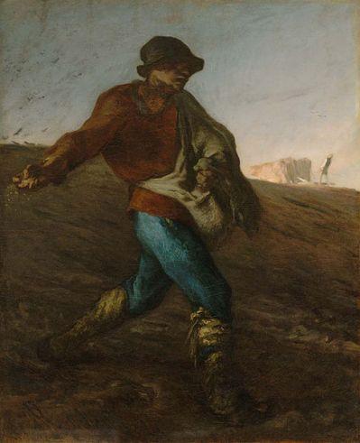 The Sower by Jean François Millet