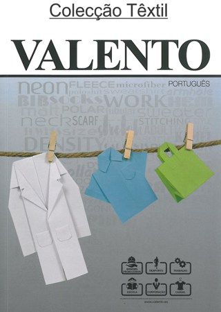 Capa catalogo Valento