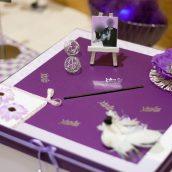 Mariage violet et argent (4)