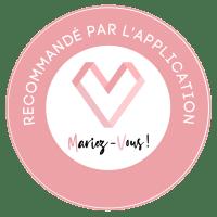 Recommandé par l'application Mariez-Vous!