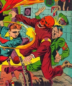 Image result for golden age red skull