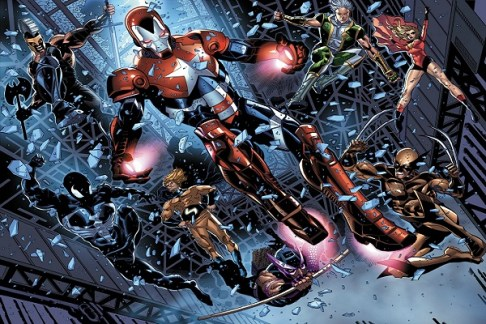 Image result for The Mighty Avengers/Dark Avengers