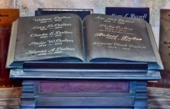 Dalton Memorial Inside