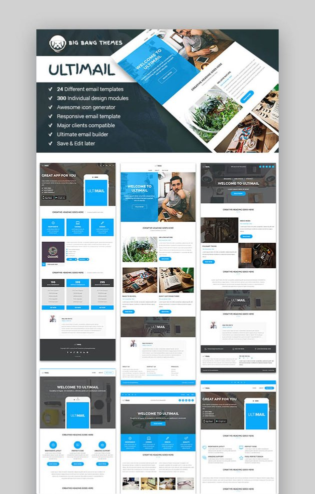 There are a variety of email templates available to choose from. 25 Best Digital Marketing Email Newsletter Templates For 2021