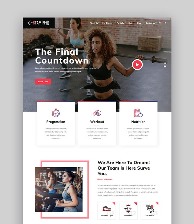In this post, we have chosen the best free and premium fitness website templates with an html responsive template for gym, fitness center or health club. 29 Best Fitness WordPress Themes For 2021 Gym Exercise Sites