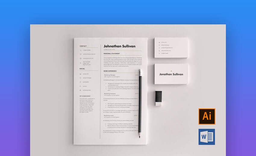The last business cards i had were the last set i ordered at kinko's. 20 Best Free Pages Ms Word Resume Cv Templates 2021