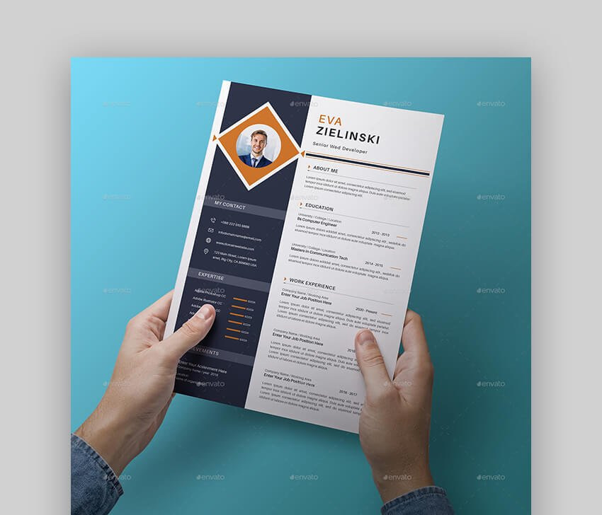 They use their hands to paint, draw and sculpt designs, as well as computer design software to meet their clients'. 30 Best Web Graphic Designer Resume Cv Templates Examples For 2020